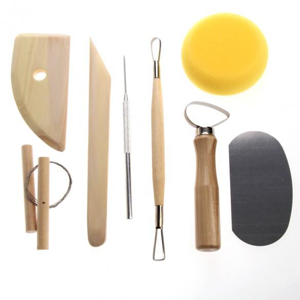 Набор гончарных инструментов