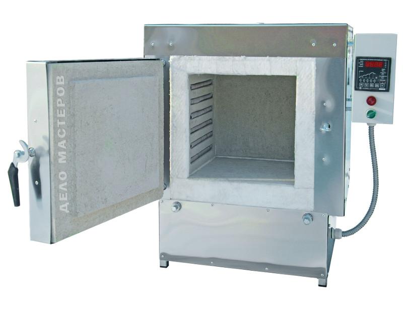 Муфельная печь для обжига с выносным блоком управления