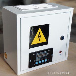Блок управления муфельной печью