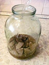 Как очистить глину - отмучивание