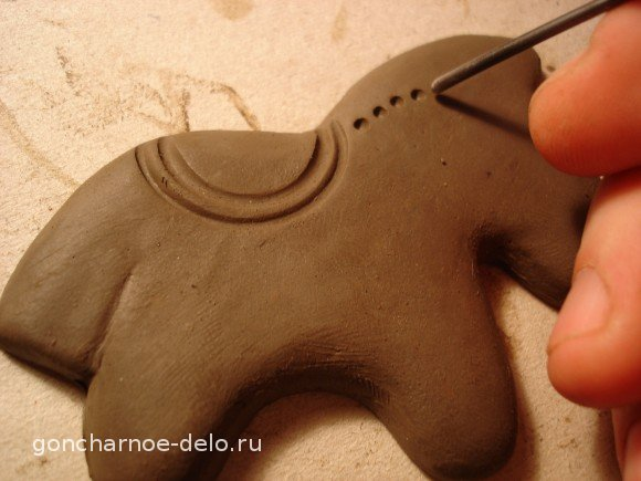 Сlay molding. Tools for imprints