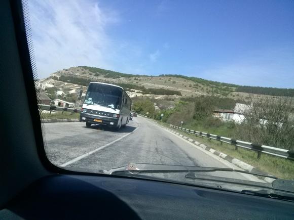Дорога в Крым