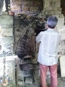 Печь для обжига на дровах