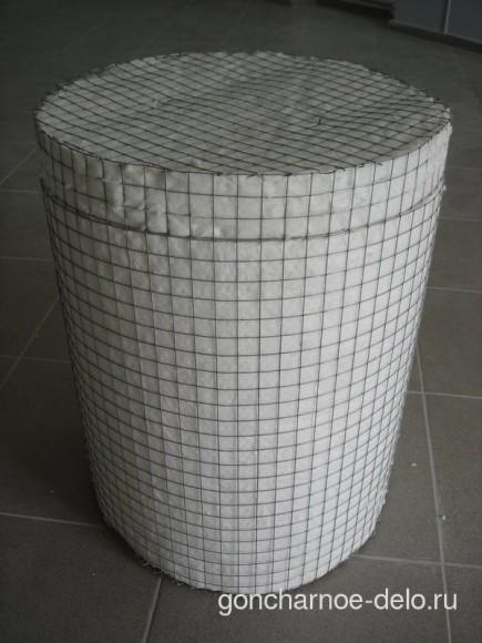 Готовая печь для обжига из керамического волокна