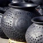 Чернение (дымление) керамики