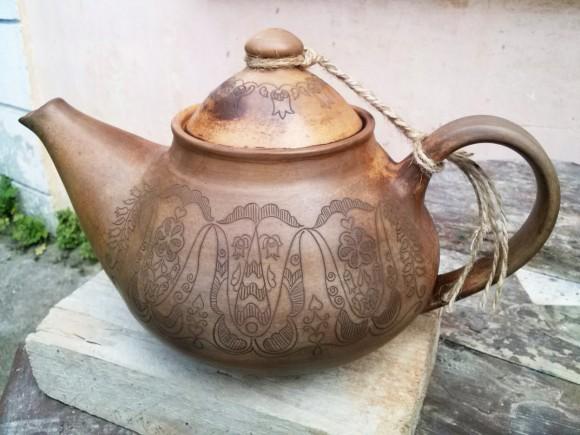 Чайник в крымско-татарском стиле