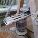 Деревянный гончарный круг с электроприводом