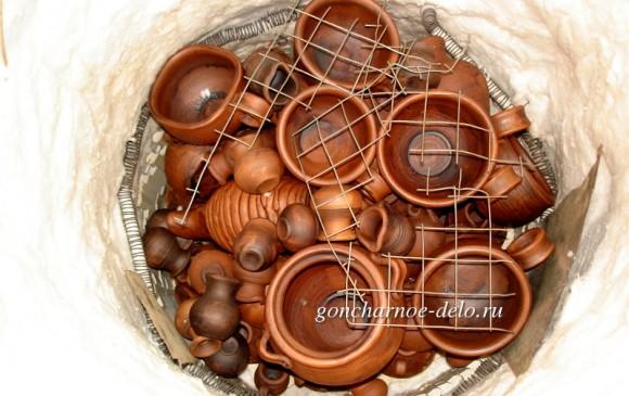 Молочение гончарной посуды