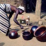 Африканская традиционная керамика. Способы формовки и обжиг