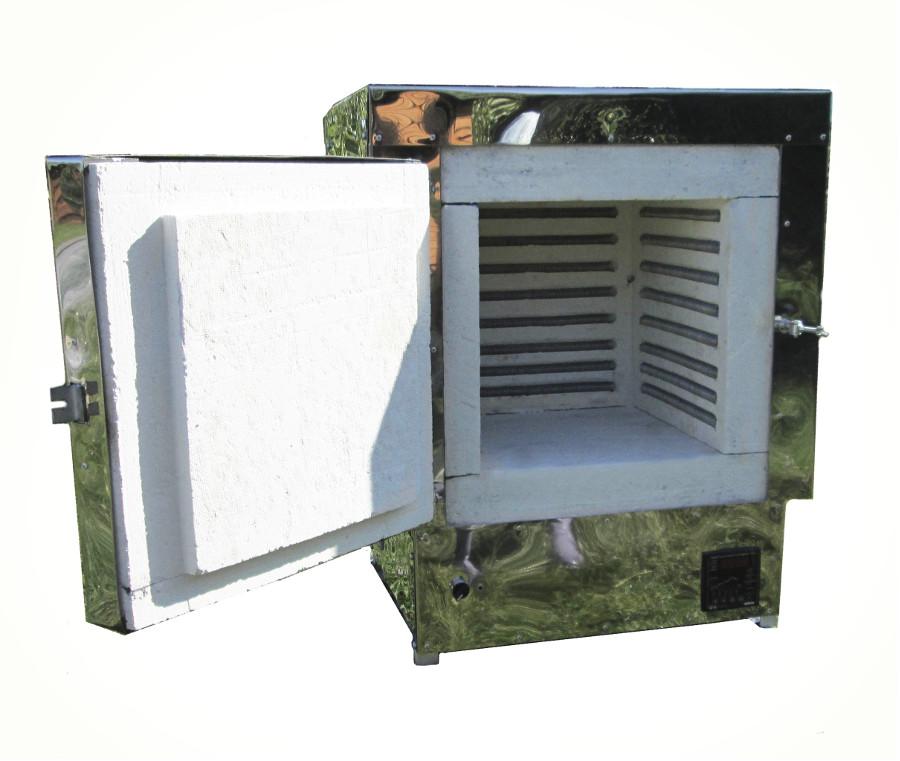 Камерная печь для обжига керамики. Купить в интернет магазине для гончаров.