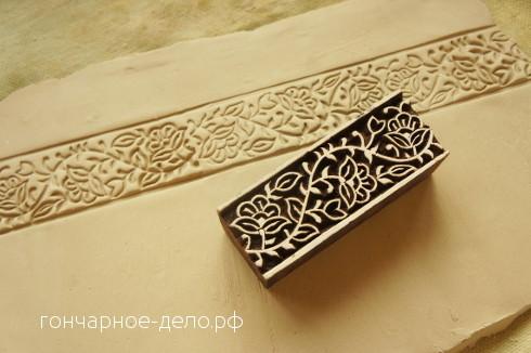 Индийские штампы. Отпечатки на глине