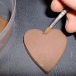 Put liquid clay