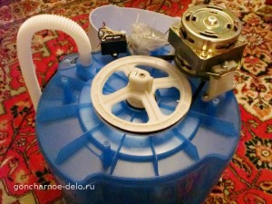 Homemade potter's wheel - dismantle the washing machine