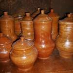 Pots for milk