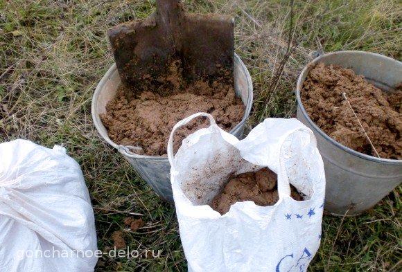 Наш урожай. Где добыть глину