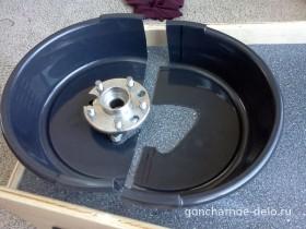 Делаем контейнер для защиты от брызг при работе на гончарном круге