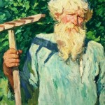 А.А. Plastov. Petr Grigoryevich Chernyaev