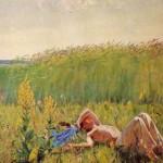 А.А. Plastov. Adolescence