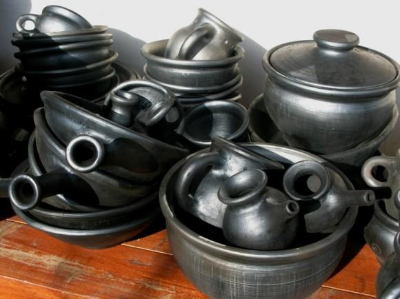 Чернение керамики