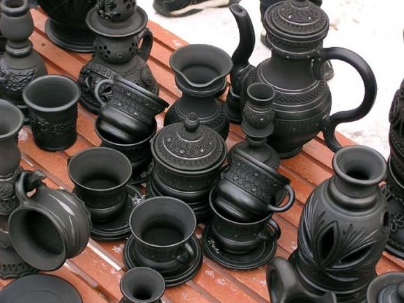 Граварецкая чернолощеная керамика