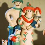 Пряничный домик. Глиняная игрушка