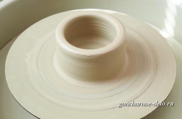 Уроки гончарного дела - подъем стенок