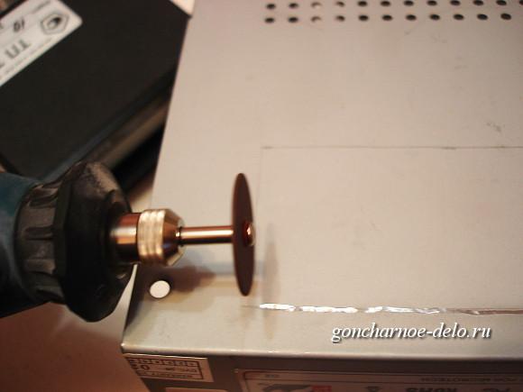 Блок управления муфельной печью своими руками