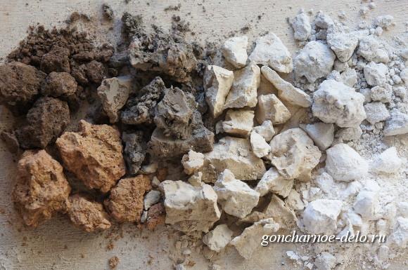 Свойства глины